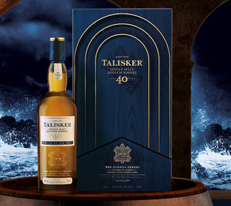 Talisker 40 years, der Start der Bodega Serie.