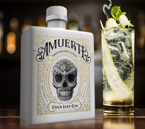 Amuerte White Edition Coca Leaf Gin, für den echten Gin Fan.