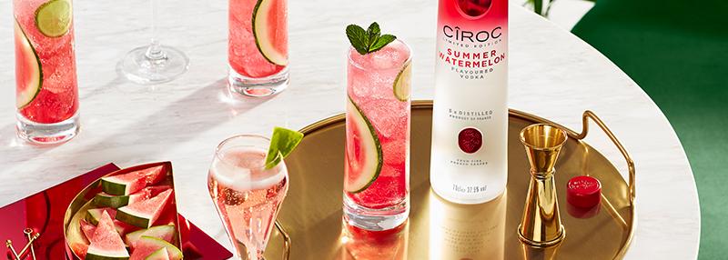 Wodka von Ciroc mit Summerfeeling